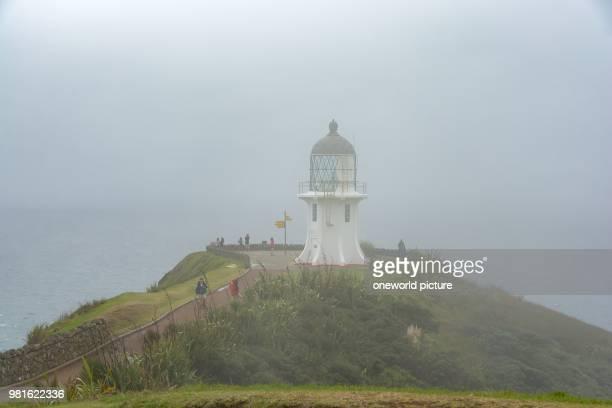 New Zealand Northland Cape Reinga Lighthouse at Cape Reinga