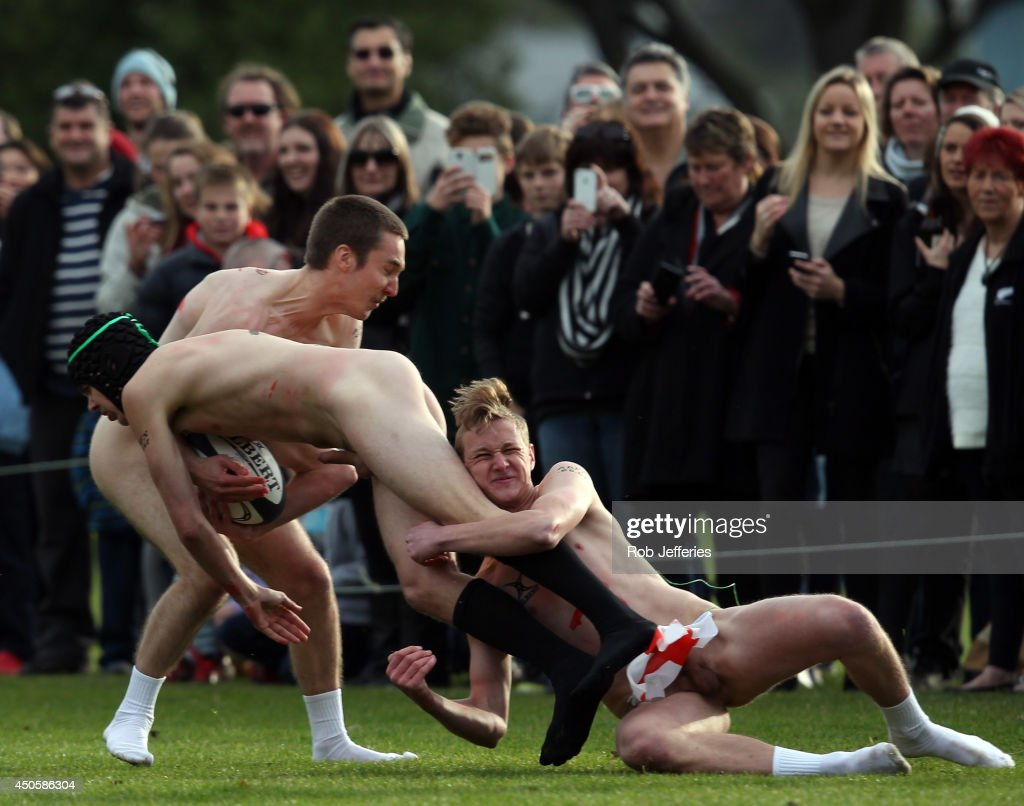 Nude Rugby - NZ v England : News Photo