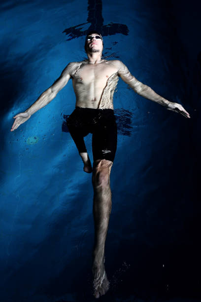 NZL: Paralympic Swimmer Jesse Reynolds Portrait Session