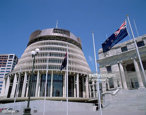 new zealand parliament building - 1985 stock pictures, royalty-free photos & images