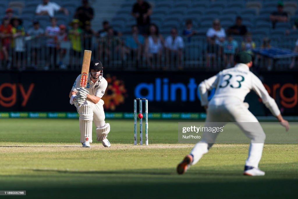 Australia v New Zealand - 1st Test: Day 4 : News Photo