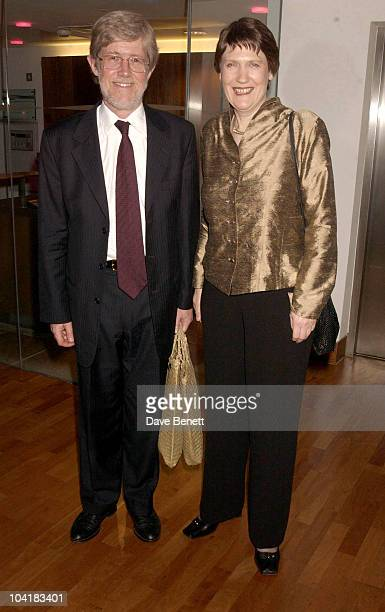 New Zealand Pm Helen Clark With Husband Peter Davies The Whale Rider Movie Premiere At The Ucg Haymarket And Party At The Commonwealth Club In London