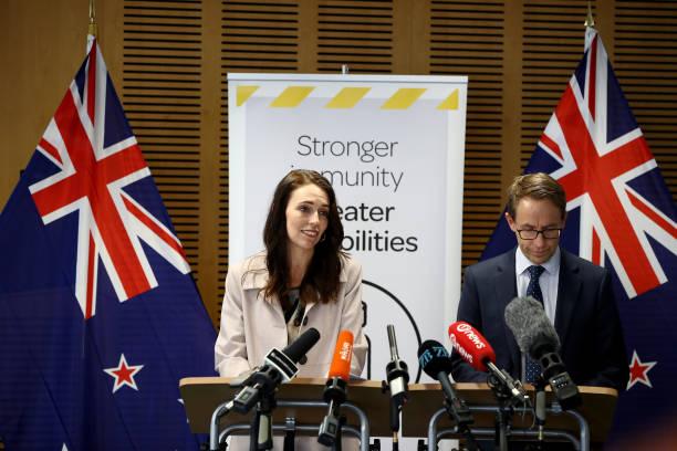 NZL: New Zealand Prime Minister Jacinda Ardern Receives Covid-19 Vaccine