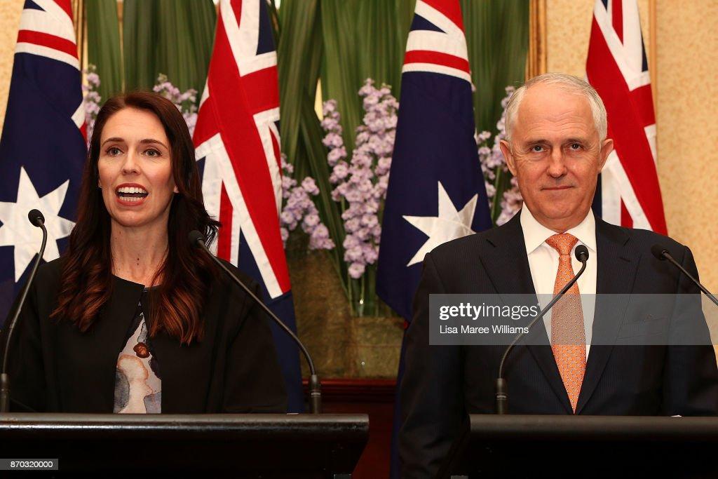 New NZ Prime Minister Jacinda Ardern Visits Australia
