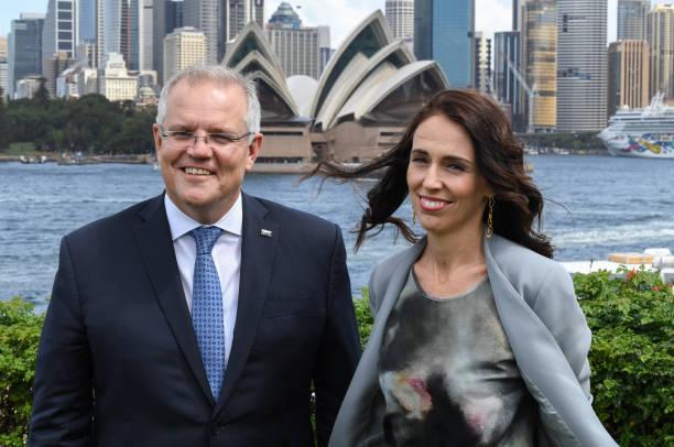 AUS: Scott Morrison And Jacinda Ardern Attend Australia-New Zealand Leaders' Meeting