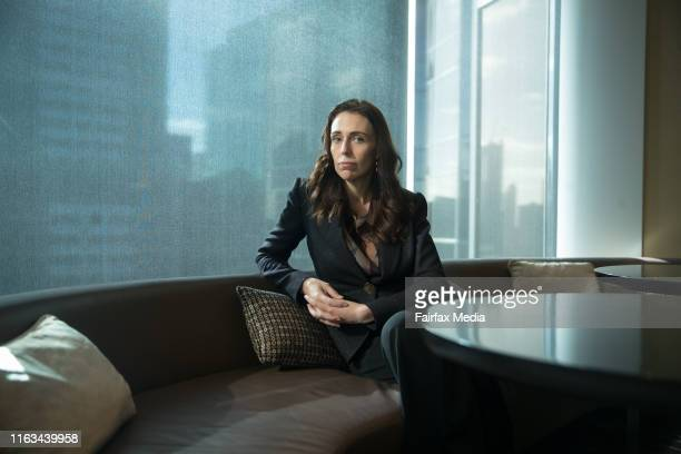 New Zealand Prime Minister Jacinda Ardern is in Melbourne to deliver a speech on the difficulties faced by modern governments, July 19, 2019.