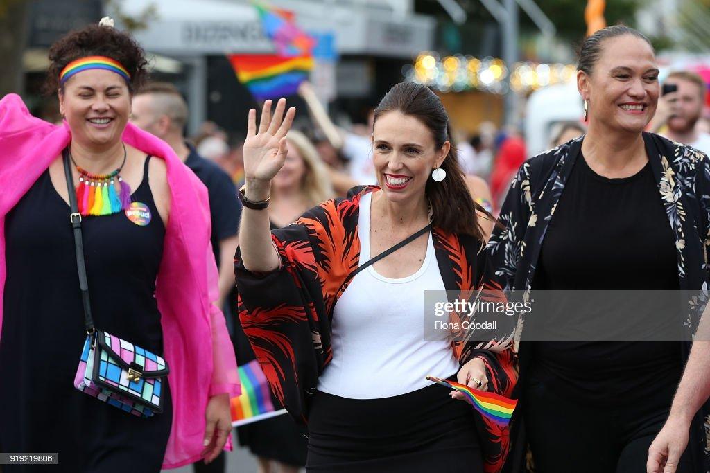 Auckland Pride Parade 2018 : News Photo