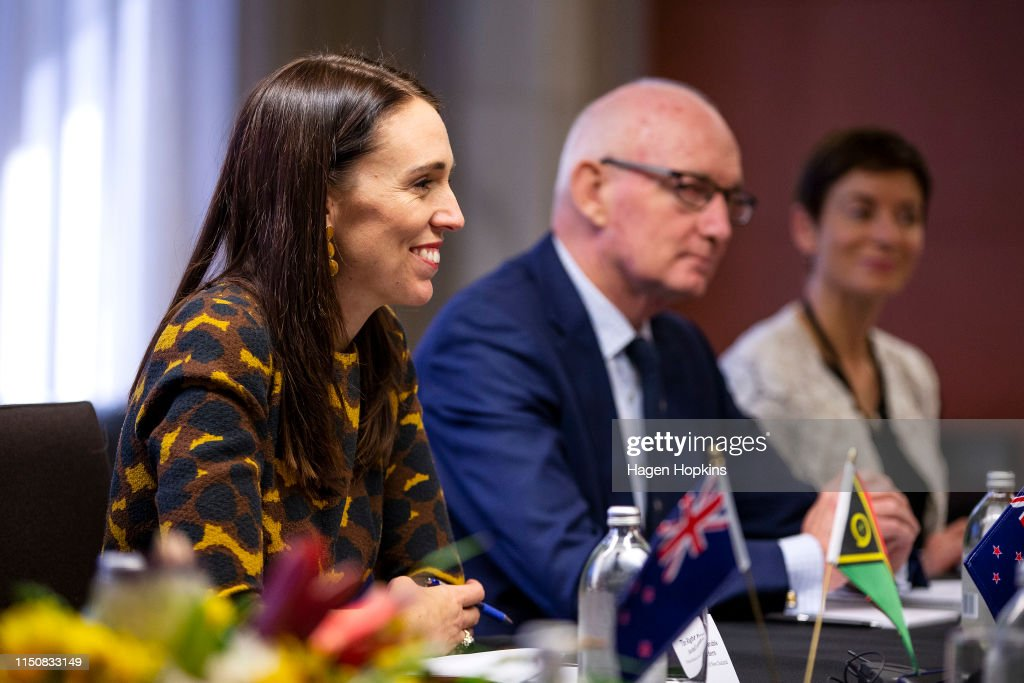 NZL: Vanuatu Prime Miniser Charlot Salwai Visits Wellington