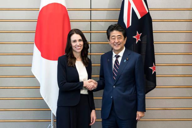 JPN: New Zealand Prime Minister Jacinda Ardern Visits Japan