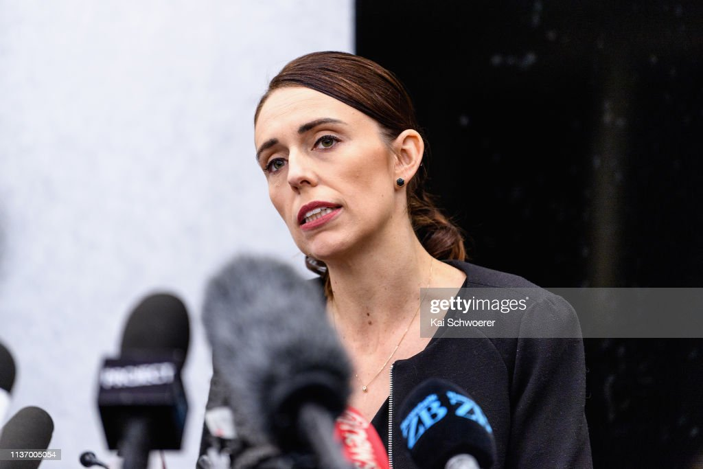 Prime Minister Ardern Returns To Christchurch As Community Prepares For Burials : News Photo