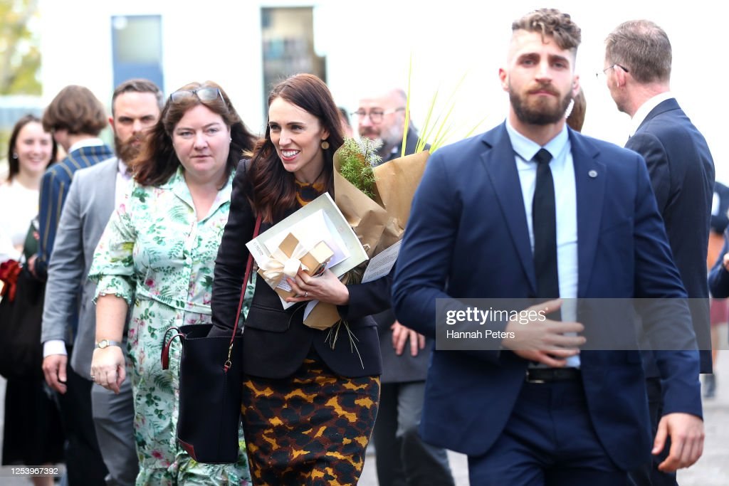 New Zealand Prime Minister Jacinda Ardern Visits Students At News Photo Getty Images
