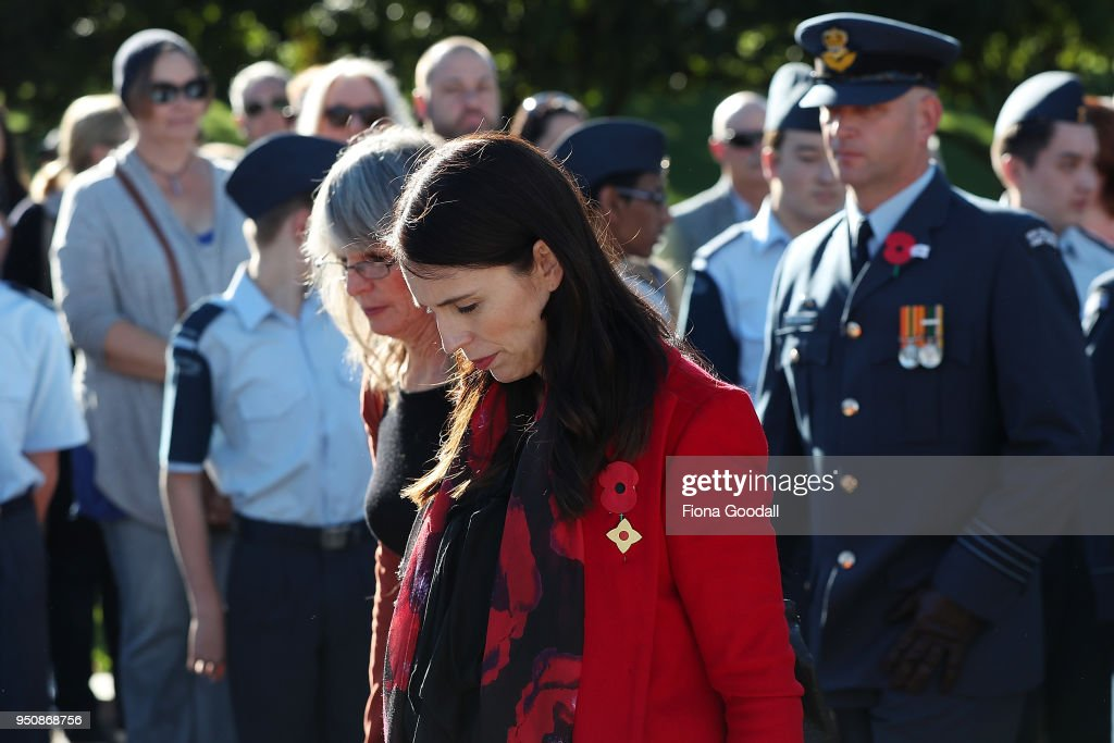 Anzac Day Commemorated In New Zealand : News Photo