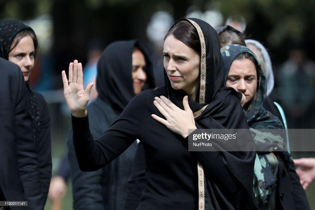 New Zealand Marks One Week Since Christchurch Terror Attacks : News Photo