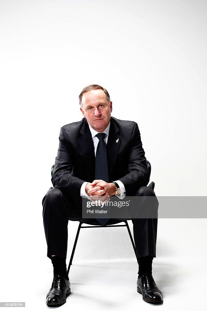 Prime Minister John Key Portrait Session