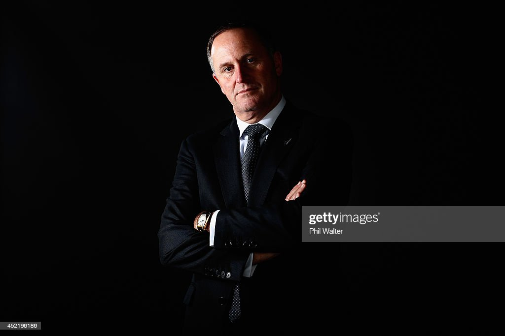 Prime Minister John Key Portrait Session