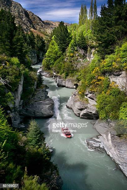 New Zealand, Queenstown, Jetboat