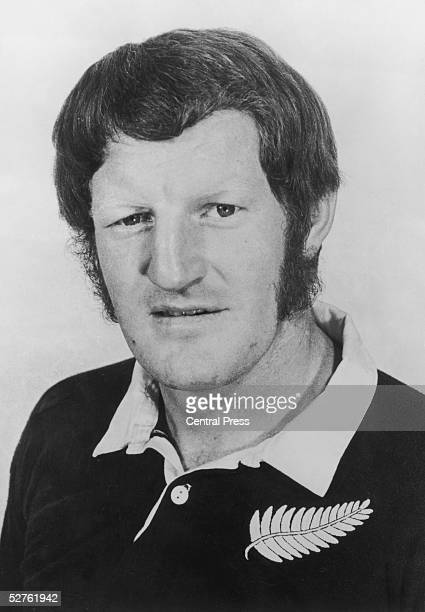 New Zealand rugby player Alex Wyllie, who is set to tour Britain with the All Blacks, 10th October 1972.