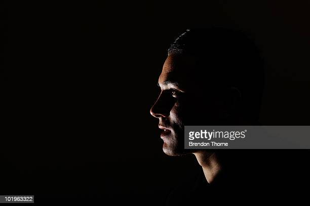 New Zealand rugby player Sonny Bill Williams speaks to the media after announcing his signing with the New Zealand Rugby Union on June 11, 2010 in...