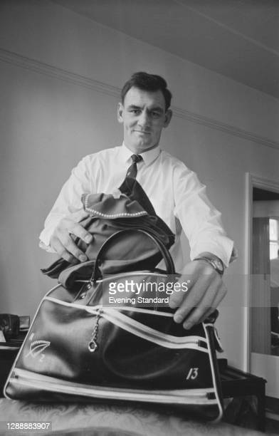 New Zealand rugby union player Brian Lochore , UK, January 1968.
