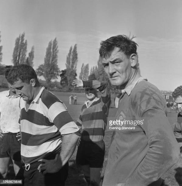 New Zealand rugby union player Brian Lochore , UK, November 1967.