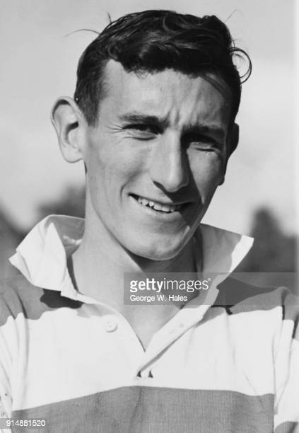 New Zealand rugby union player Colin Loader during his tour of the British Isles with New Zealand national rugby union team the All Blacks, 30th...