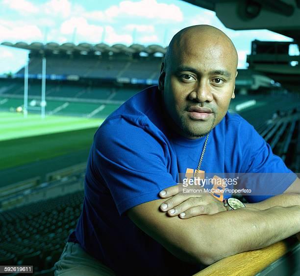 New Zealand rugby union player Jonah Lomu , circa 2005.