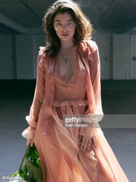 New Zealand singersongwriter and record producer Lorde is photographed for Fashion Magazine on June 20 2017 in New York City PUBLISHED IMAGE Dress...