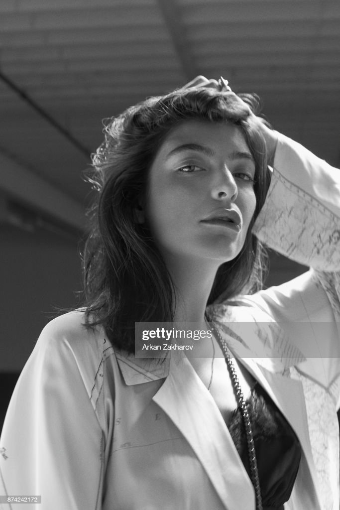 New Zealand singer-songwriter and record producer Lorde is photographed for Fashion Magazine on June 20, 2017 in New York City. PUBLISHED.