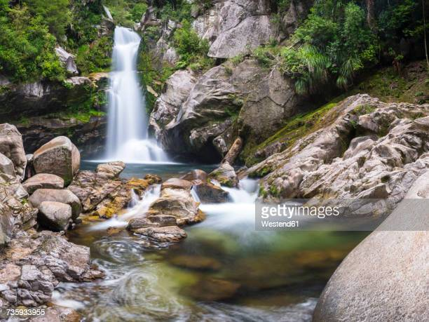 New Zealand, South Island, Abel Tasman National Park, Wainui Falls