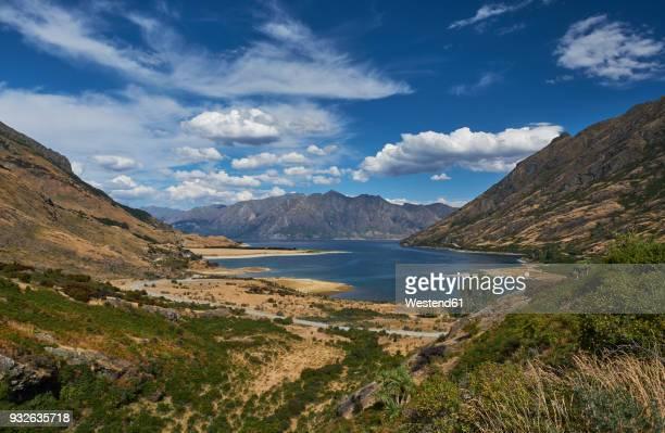 New Zealand, South Island, Crown Range, Lake Wakatipu
