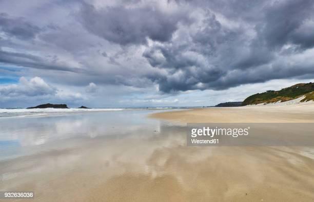 New Zealand, South Island, Dunedin, Otago Peninsula, Tomahawk Beach