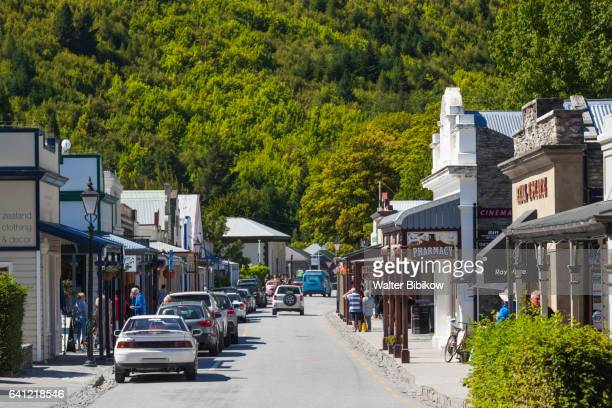 new zealand, south island, exterior - arrowtown stock pictures, royalty-free photos & images