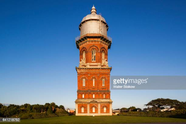 new zealand, south island, exterior - water tower storage tank stock pictures, royalty-free photos & images