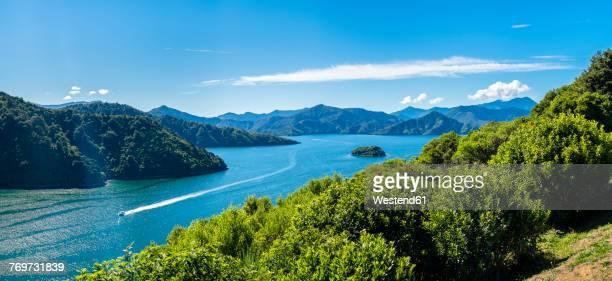 New Zealand, South Island, Marlborough Sounds, Waikana Bay