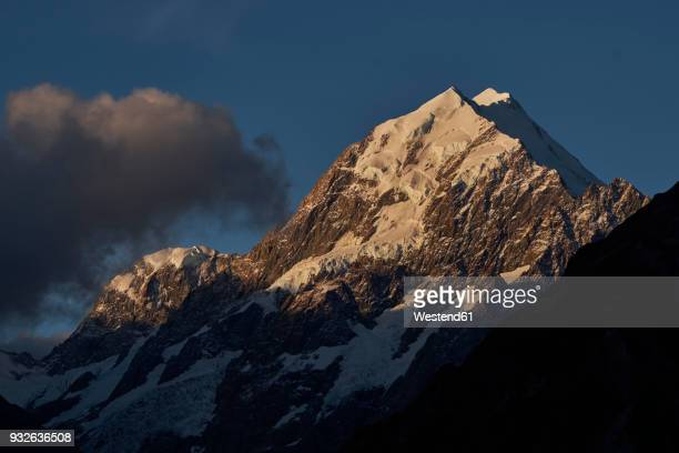 New Zealand, South Island, Mount Cook National Park, Mount Cook