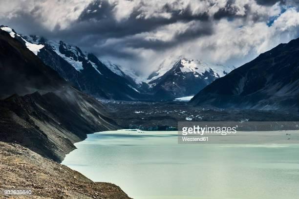 New Zealand, South Island, Mount Cook National Park, Tasman Lake