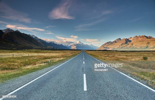 New Zealand, South Island, Mount Cook National Park, Tasman Valley Road