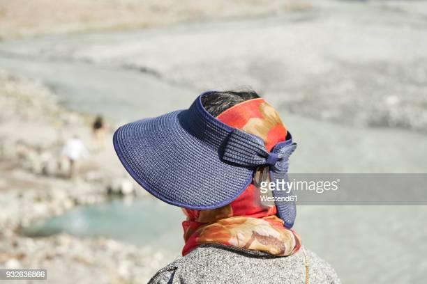 New Zealand, South Island, Westland National Park, Asian tourist