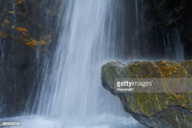 New Zealand, South Island, Westland National Park, waterfall