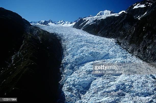 New Zealand Southern Island West Coast Westland Tai Poutini National Park Fox glacier