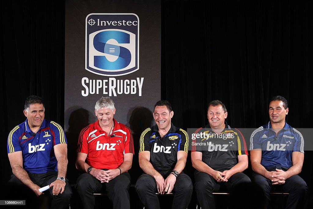 New Zealand Super Rugby Squads Announcement : ニュース写真