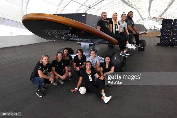 New Zealand Tokyo Olympic Games athletes Ella Williams,Justina Kitchen, Stacey Flulher, Dan Wilcox, Anna Leat, Theresa Fitzpatrick, Andrea Anacan,...