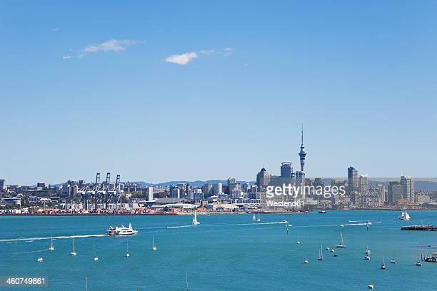 New Zealand, View of Auckland skyline