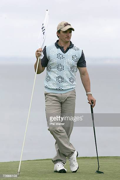 New Zealand Warriors head coach Ivan Cleary during the New Zealand Open Pro Am at the Gulf Harbour Country Club on the Whangaparoa Peninsula November...