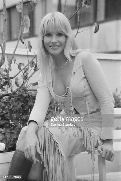 New Zealandborn psychologist writer and performer Pamela Stephenson UK 8th October 1976