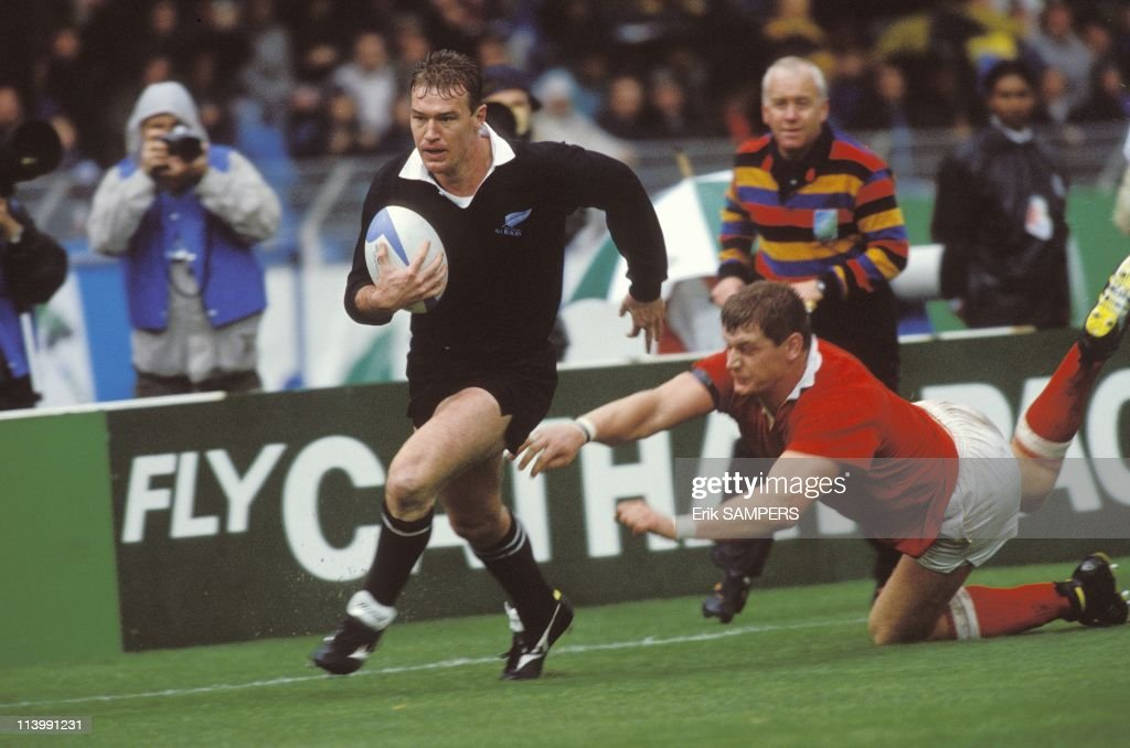 New Zealand-Canada: Quarter-final of the Rugby World Cup In France On October 19, 1991- : News Photo