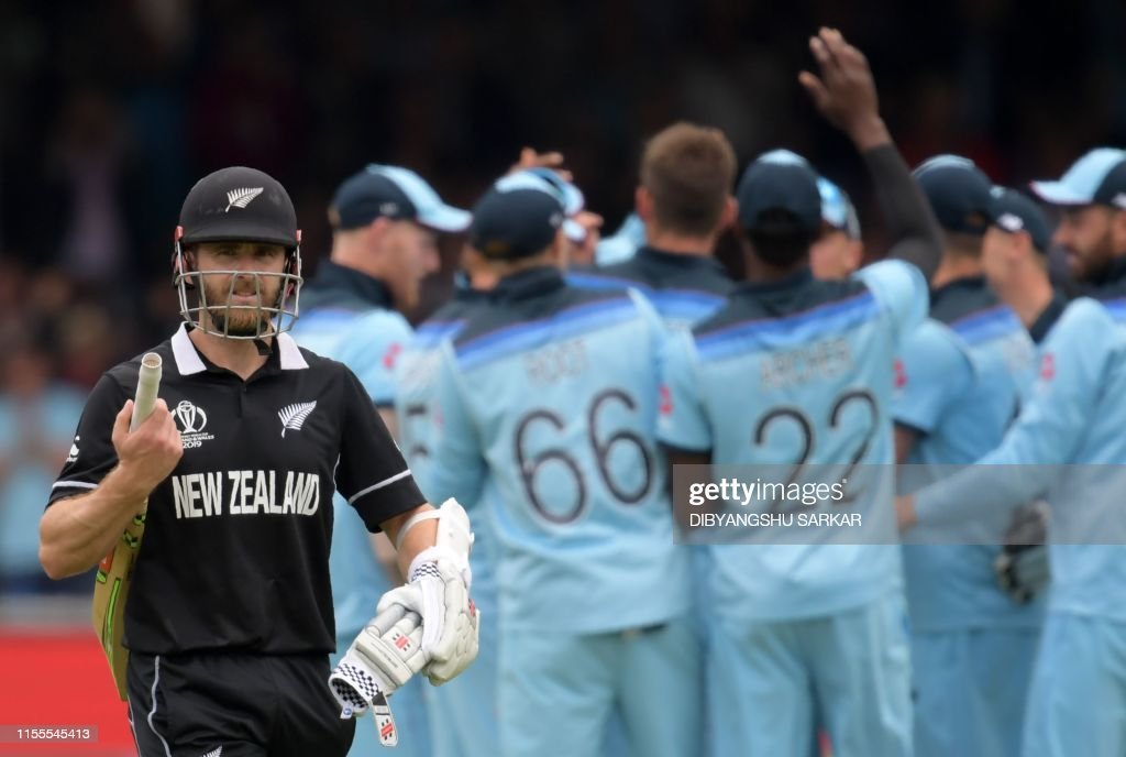 CRICKET-WC-2019-ENG-NZL-FINAL : News Photo