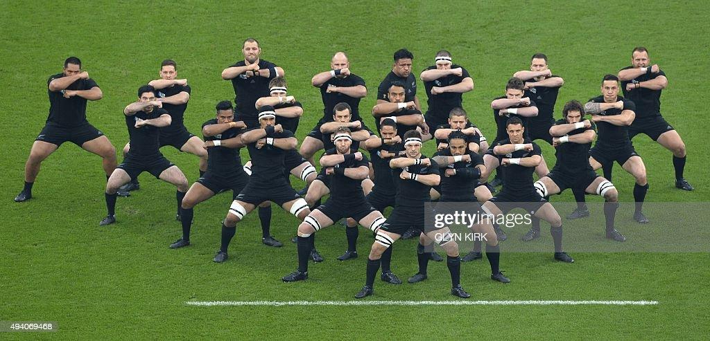 RUGBYU-WC-2015-RSA-NZL-MATCH45 : News Photo