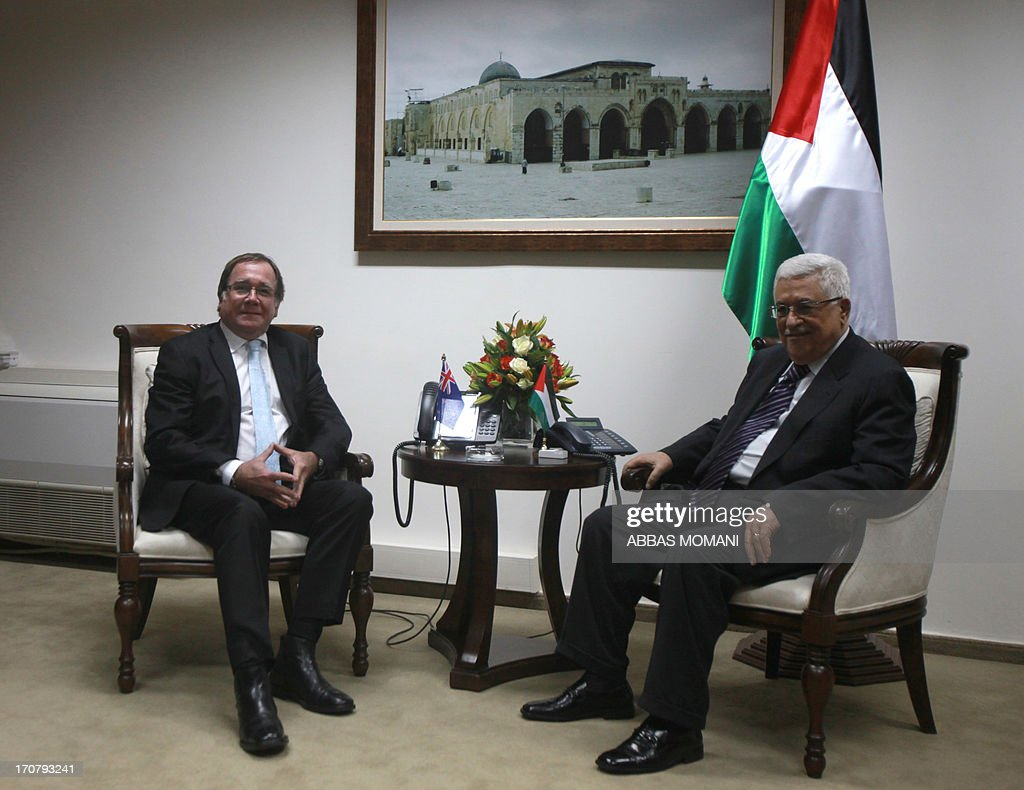 PALESTINIAN-NEW ZEALAND-DIPLOMACY : News Photo