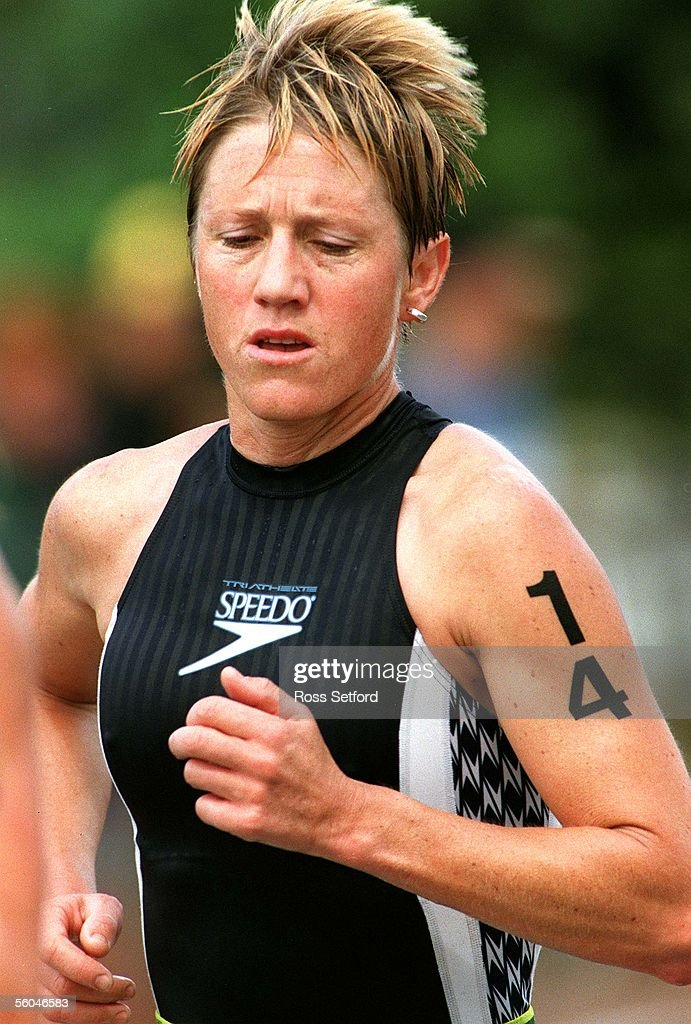 New Zealand's Jenny Rose in the run stage of the Q : News Photo